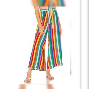 Show Me Your Mumu Explorer Pants - Tulum Stripe
